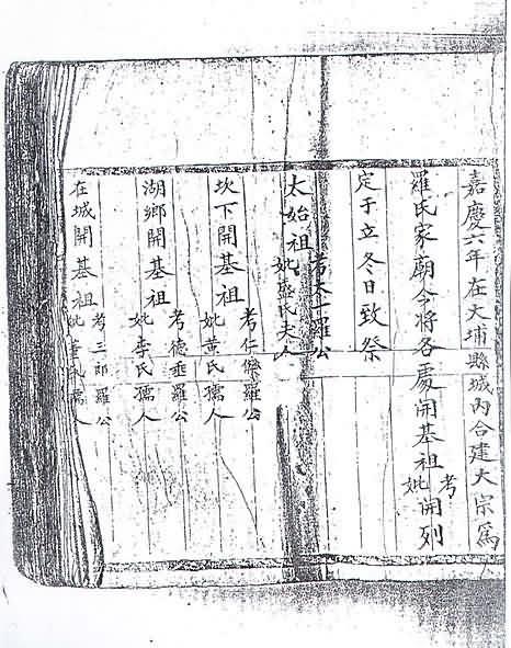 安河桥打鼓节奏谱子-现代的河头和坎下罗氏族谱和基因谱大整合